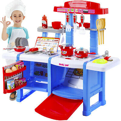 Kitchen Cooking Toys Girls Portable Electronic Children Kids Cooker Play Set