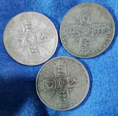 Great Britain Florin KM# 817a--1920  -1921  -1922