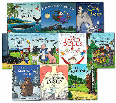 Julia Donaldson Picture Book Collection - 10 Book Set Gruffalo Room on the Broom