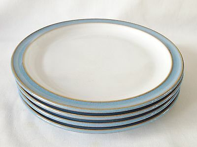 Denby Colonial Blue Tea Plates x 4