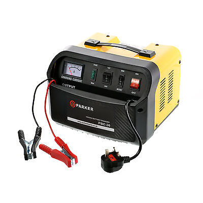 12/24V - 30 Amp Portable Battery Charger