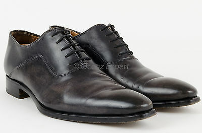 Chaussures Derby Stradel's Homme Pointure 42 En Cuir Gris Leather Derby Shoes