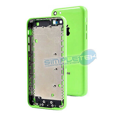 Back Cover Rear Shroud Green Spare Parts For Iphone 5 C Full Green Top A