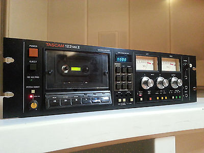 Tascam 122 MKII Professional Cassette Recorder / Reproducer