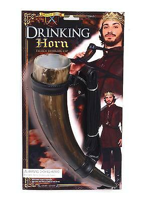 FANCY DRESS Medieval Drinking Horn