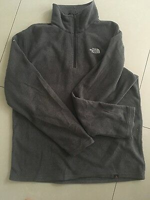 the north face mens fleece top size med