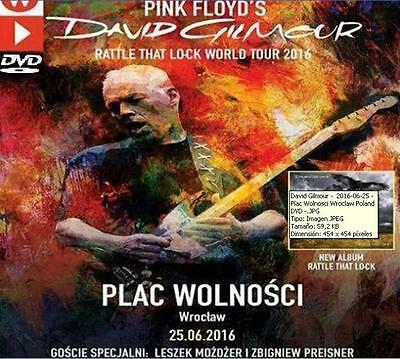 DAVID GILMOUR - LIVE IN PLAC WOLNOSCI, WROCLAW, POLAND - 25 june 2016 (DVD)