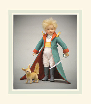 """R. John Wright Doll Le Petit Prince """"FOX"""" ONLY Collectible USA Made"""
