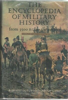 The Encyclopedia of Military History pub by Jane's 1986 1524 pgs  HB/DJ VG/VG