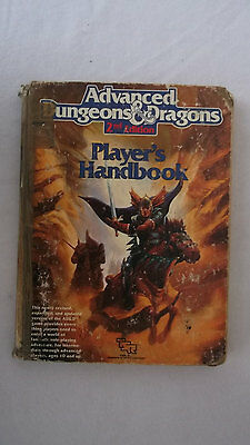 vintage Book of Advanced Dungeons & Dragons from the 80's 1989