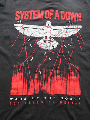 System of A Down North America 2015 Tour Women Black T Shirt  L Large XL X-Large