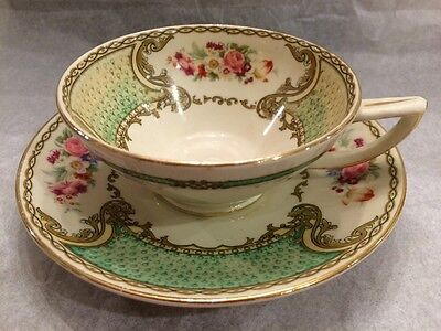Vintage Myott Staffordshire tea cup and saucer