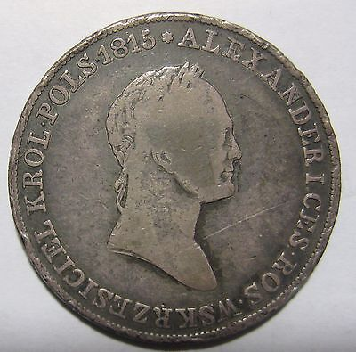 1834IP - Poland - 5 Zlotych  Silver Coin
