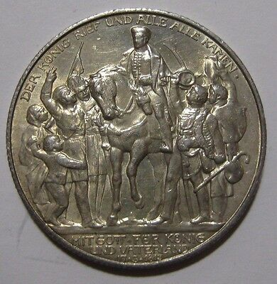 1913A - Germany/Prussia - 2 Mark Silver Coin