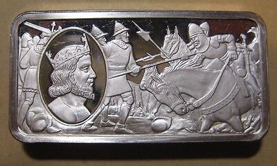 Franklin Mint - British Monarchy - Sterling Silver Bar - 65.9 Gram #6