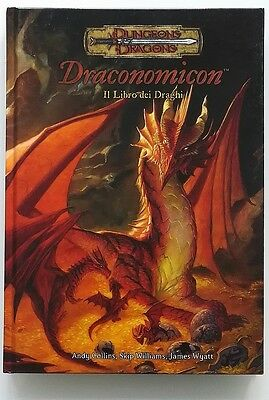 ⚝ Come Nuovo ⚝ Draconomicon Il Libro Dei Draghi 3.5 D&d Dungeons And Dragons 3.0
