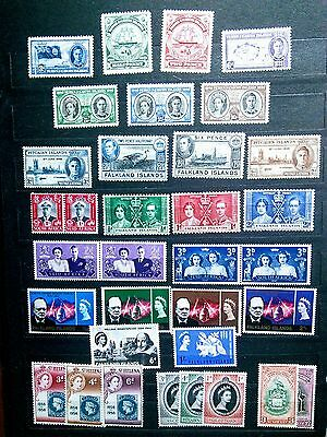 British Commonwealth mint NH older issues in fantastic condition