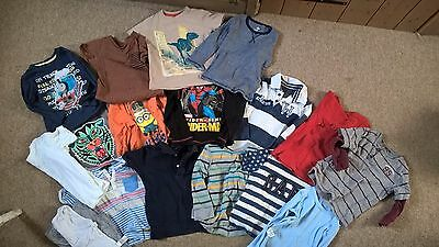 Boys 2-3 years large clothes tops t shirts bundle GAP Marks and Spencer