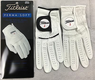 Titleist Permasoft Golf Gloves S M ML L XL - Left Hand - For Right Handed Golfer
