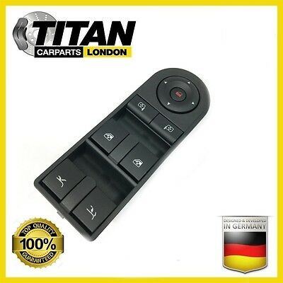Electric Window Switch Front Drivers Side Vauxhall Tigra Convertible 93162636