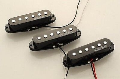 Set 3 pick up Wilkinson single coil Fender Stratocaster high output WHS alnico
