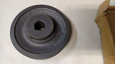 """Browning Cast Iron Pulley AK 41 x 5/8"""" 3.95"""" OD 5/8"""" Bore"""