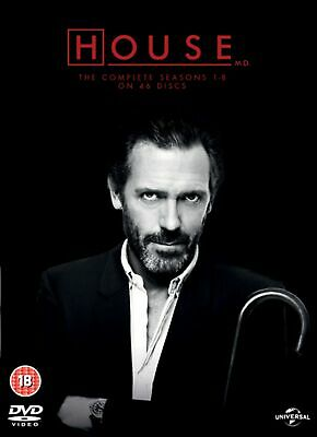 House: The Complete Seasons 1-8 (Box Set) [DVD]