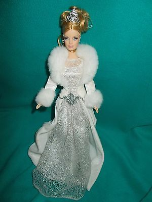 2003 WINTER FANTASY HOLIDAY VISIONS BARBIE DOLL Loose