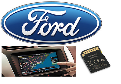 Oem   Ford Mca Sd Card Europe 2017 Map  Navigation