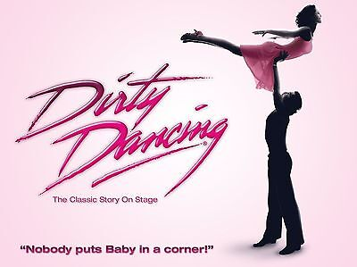 """Dirty Dancing 16"""" x 12"""" Reproduction Poster Photograph 3"""