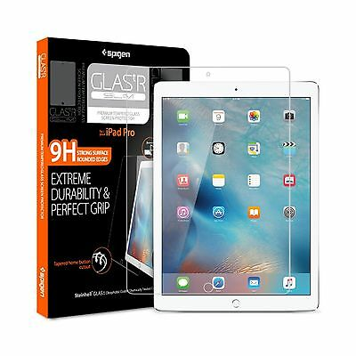 iPad Pro Screen Protector Spigen [Tempered Glass] [12.9 inch] Most Durable [E...