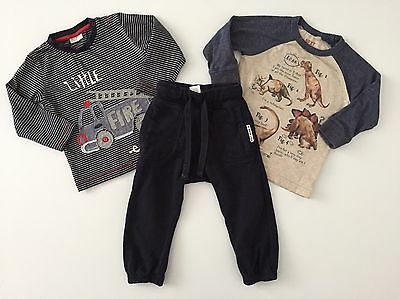 Next 2x Top And Joggers Size 12-18 Months Baby Boy