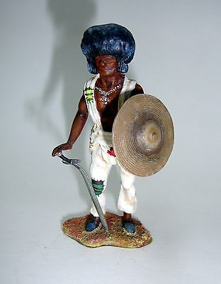 Vintage hand-painted lead Military Sudanese Tribesman - 54mm Category