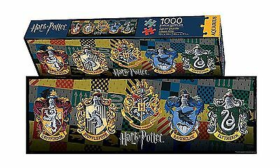 Harry Potter Crests 1000 Pc Slim Jigsaw Puzzle