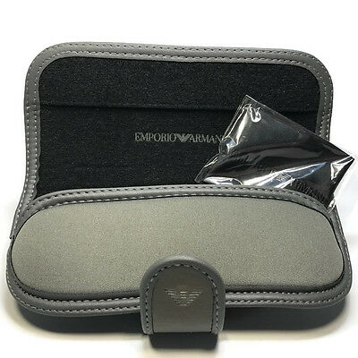 Emporio Armani Eyeglasses/Reading Glasses Case Only w/Cloth
