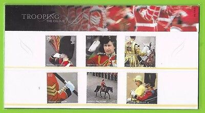 2005 GREAT BRITAIN PRESENTATION PACK No 372 'TROOPING THE COLOUR'