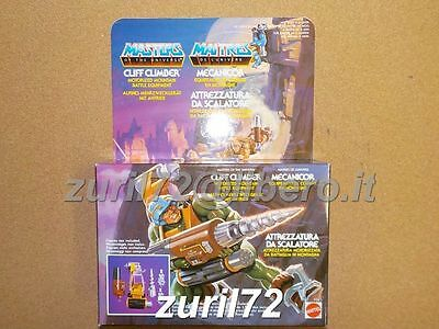 Motu Master Of The Universe Cliff Climber Cliffclimber Misb Made In Italy