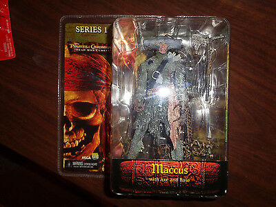 NECA Pirates of the Caribbean Dead Man's Chest Maccus Series 1 Action Figure