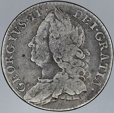 1758 Great Britain 6 Pence