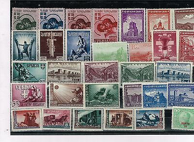 Serbial, small acumulation of stamps, mixed condition (02).