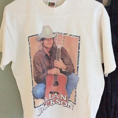 ALAN JACKSON Vintage Country Music Shirt 90's Large