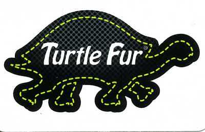 Turtle Fur - Decal Sticker -2X3 Inches