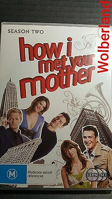 How I Met Your Mother : Season 2 [3 DVD Set] LIKE NEW, Region 4, FREE POST..9680
