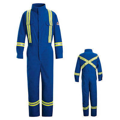 Bulwark EXCEL FR® ComforTouch Premium Coverall with Reflective Trim Size 48