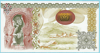 Poland Test Note PWPW - Pensive Christ Specimen 2010? - Extremely Rare UNC