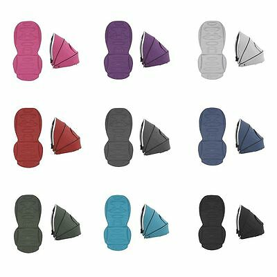 BabyStyle Oyster Max Colour Pack for Lie Flat Tandem (lower) Seat (2017 Fabrics)