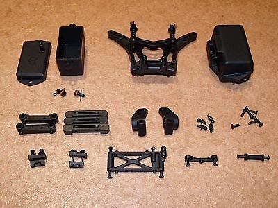 Hpi Firestorm 10T Nitro Truck Rear Shock Tower Battery Box Chassis Parts