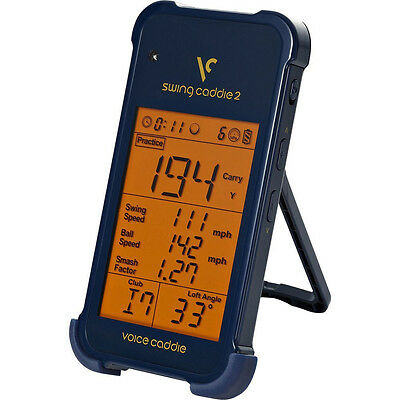 Voice Caddie SC200 Swing Portable Launch Monitor Blue