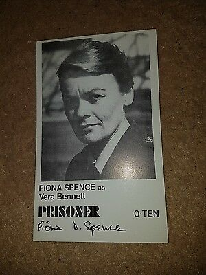 PRISONER CELL BLOCK H  original fan card Vera Bennett
