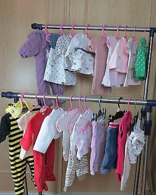 Baby Girls Clothes Bundle, 0-3 months, NEXT Monsoon dress, outfit vests top E005